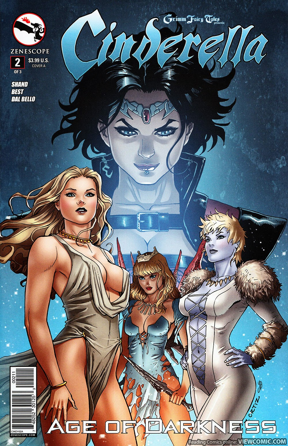 Uncategorized Online Fairy Tales grimm fairy tales presents cinderella viewcomic reading comics 002 2014