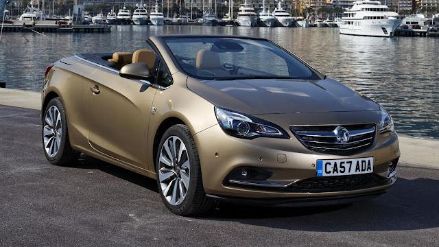 Vauxhall Cascada Convertible front