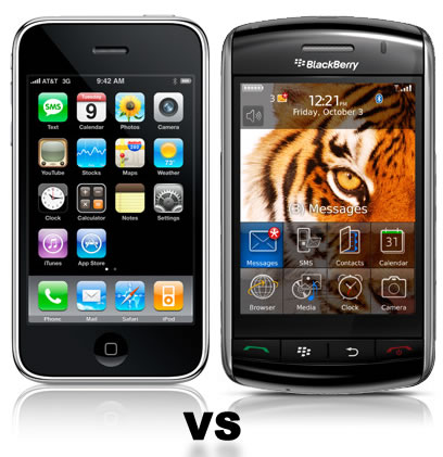 Iphone 5 Vs Bb Torch 2