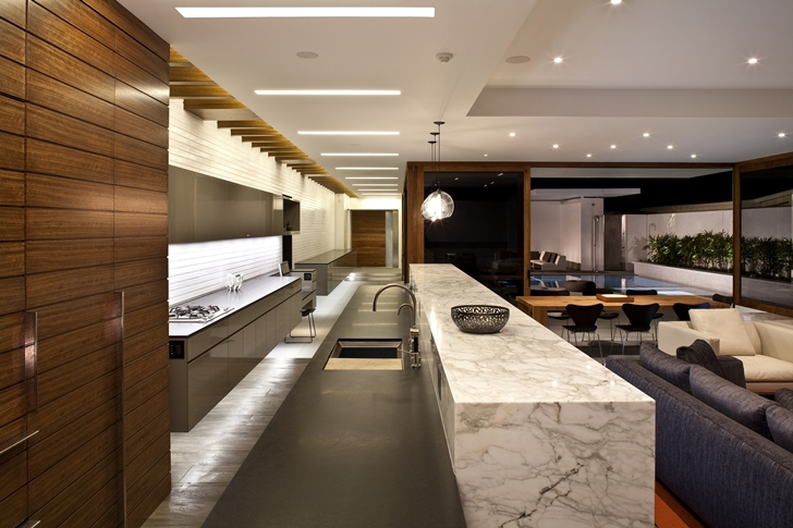 Kitchen in CORMAC Residence In California