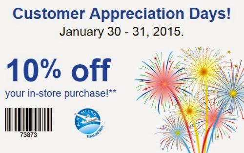 Staples 10% off Customer Appreciation Days Coupon