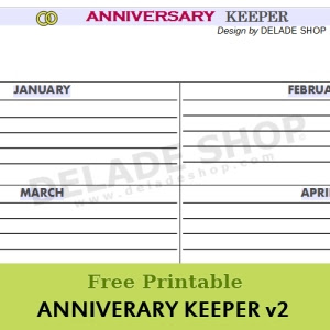 Pin It! Anniversary Keeper v2 by DELADESHOP.COM
