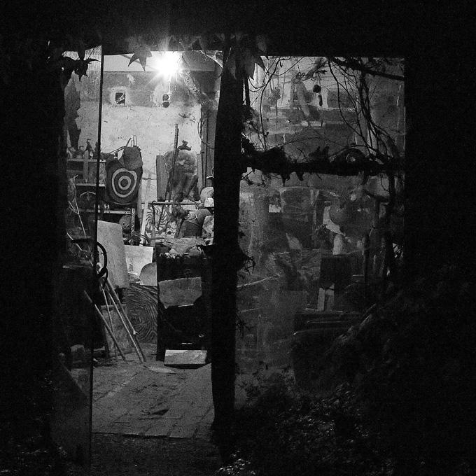 photo, atelier d'artiste, peintre et sculpteur, painter studio, artist,sculptor © dominique houcmant