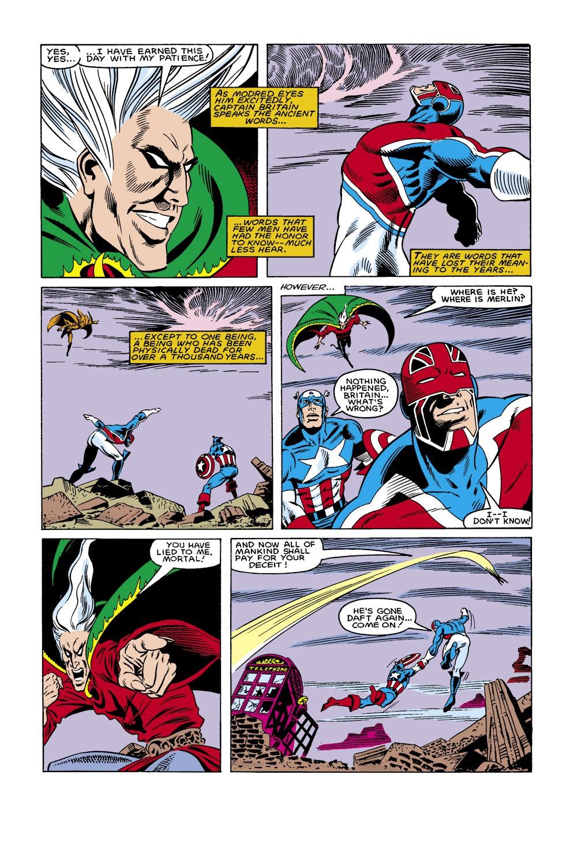 Captain America (1968) Issue #306 #234 - English 16