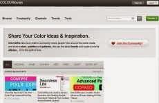 ColourLovers: red social para diseñadores gráficos, que les permite crear y compartir colores y paletas de colores