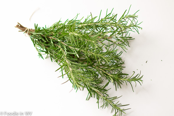 how to dry fresh garden rosemary