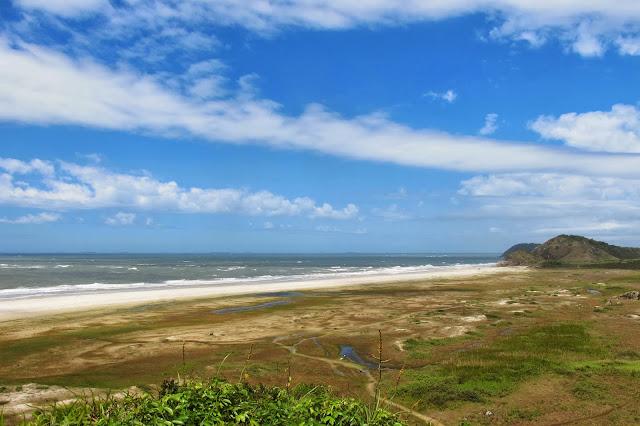 Encantadas na Ilha do Mel no Paraná.