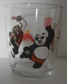 bicchiere Nutella Kung Fu Panda