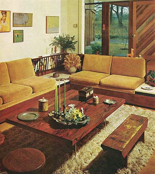 Inspirations 60s interior design for Interior design 70s style