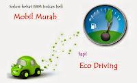 Agung Car, hemat berkendara dengan eco driving