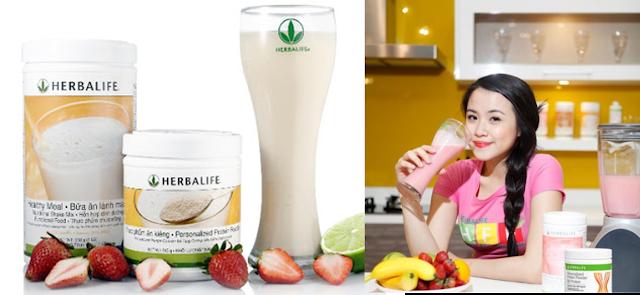 Sữa giảm cân Herbalife có hiệu quả không ?