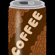 缶コーヒーのイラスト
