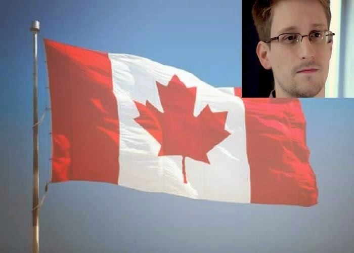 Edward Snowden says Canada involed in spying