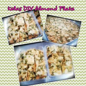 Kelas DIY Almond Flake RM150
