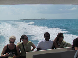 Leaving Caye Caulker for San Pedro, Ambergris Caye