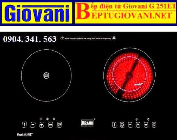 BẾP ĐIỆN TỪ GIOVANI G 251ET