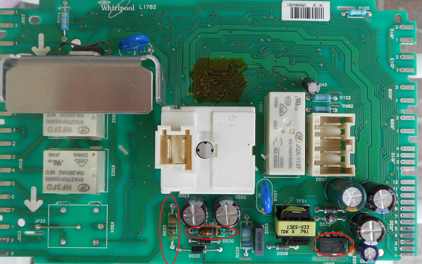 Faulty Whirlpool Washing Machine | Projects Blog