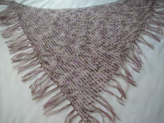 Download Free Pattern Details - Lace - Pretty Triangle Shawl (knit