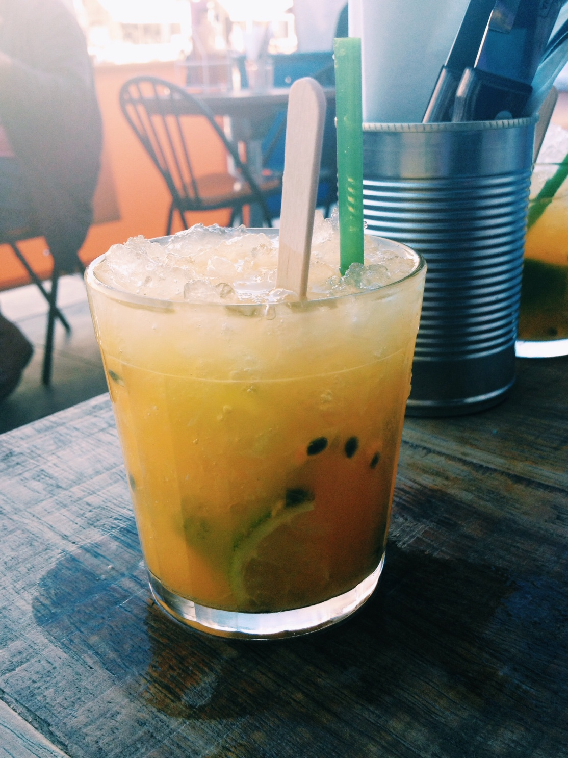 cabana islington passionfruit caipirinha