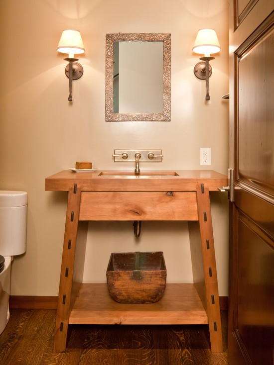 Bathroom Design Ideas with Wooden Furniture - Amazing Home Design