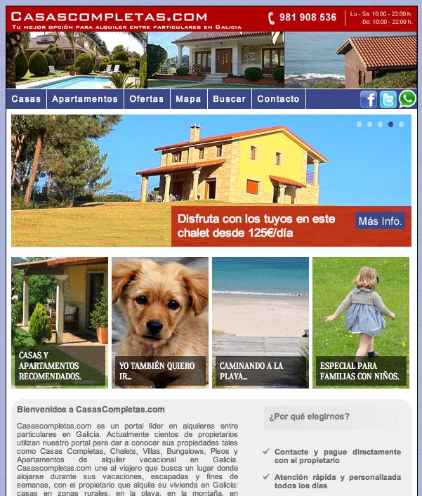 Alquiler Pisos Marbella Larga Temporada Particulares: Casas Completas Galicia, Alquiler De Vacaciones: Febrero 2014