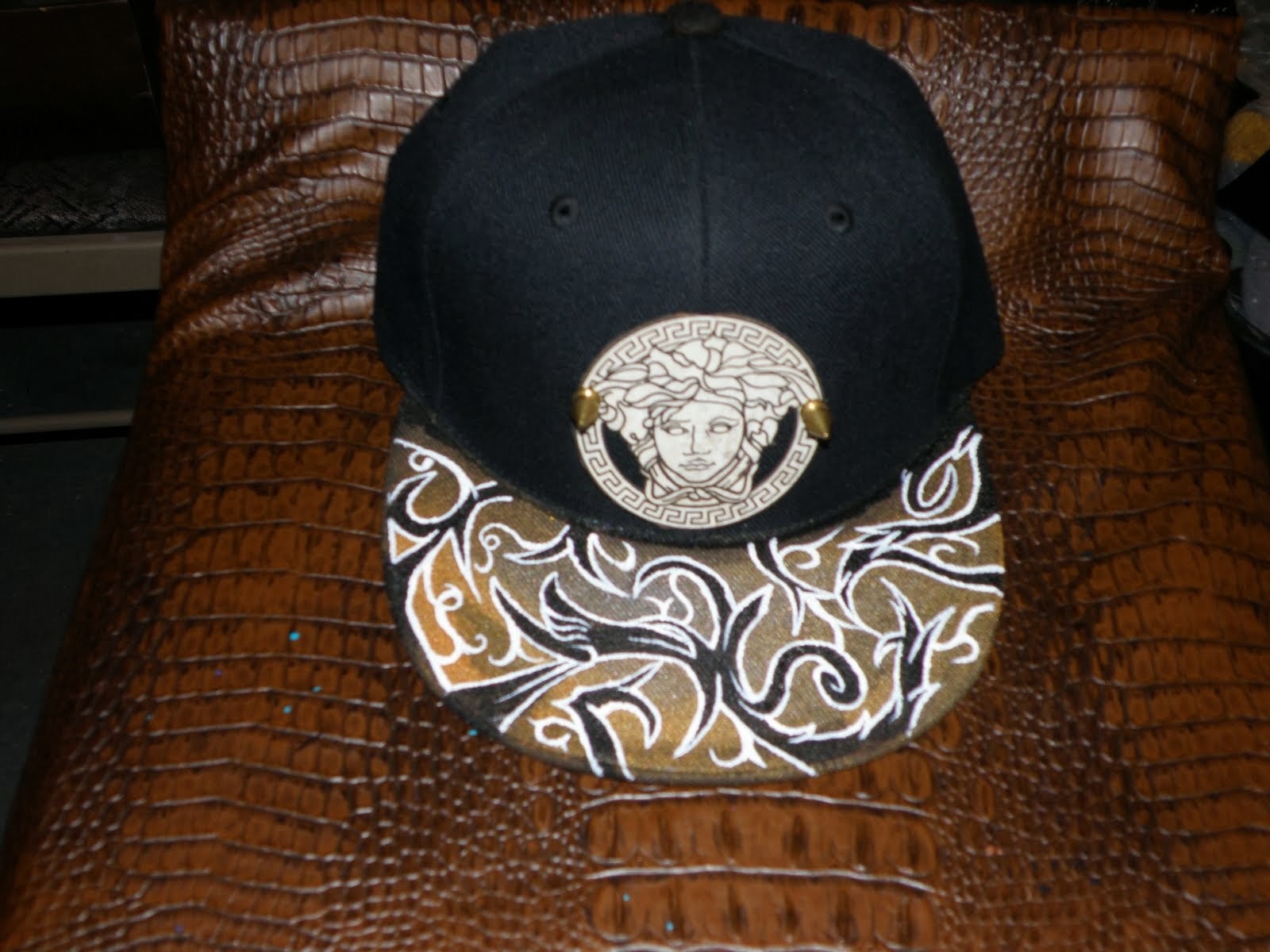 CUSTOM PAINTED SNAPBACK