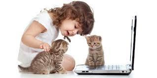 Kucing dan anak-anak