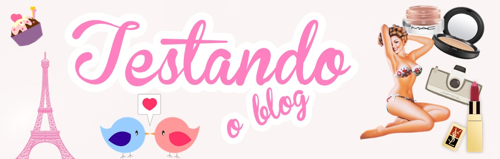 Testando o blog