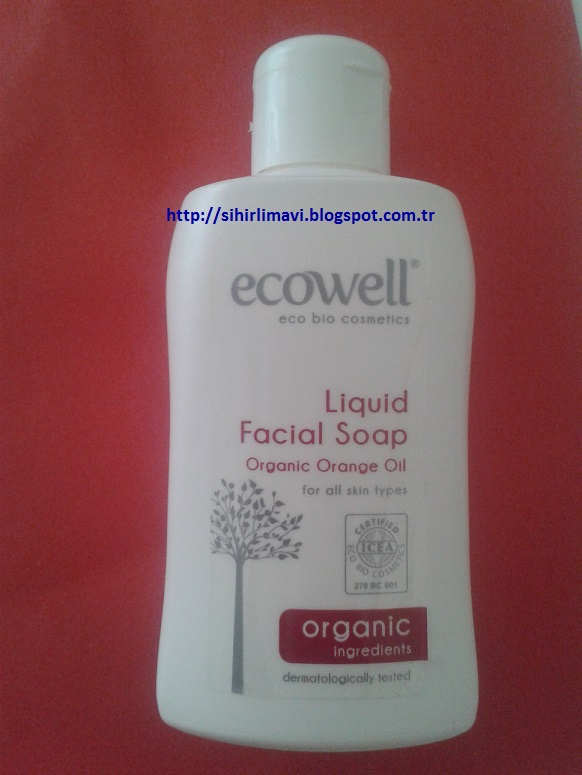 ecowell, organik, cilt temizliği, likit sabun