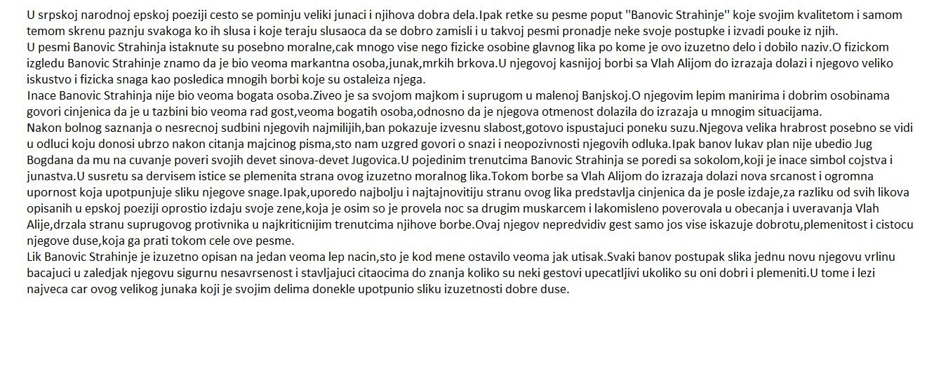 pismeni sastavi pismeni zadaci sastavi iz srpskog jezika pismeni