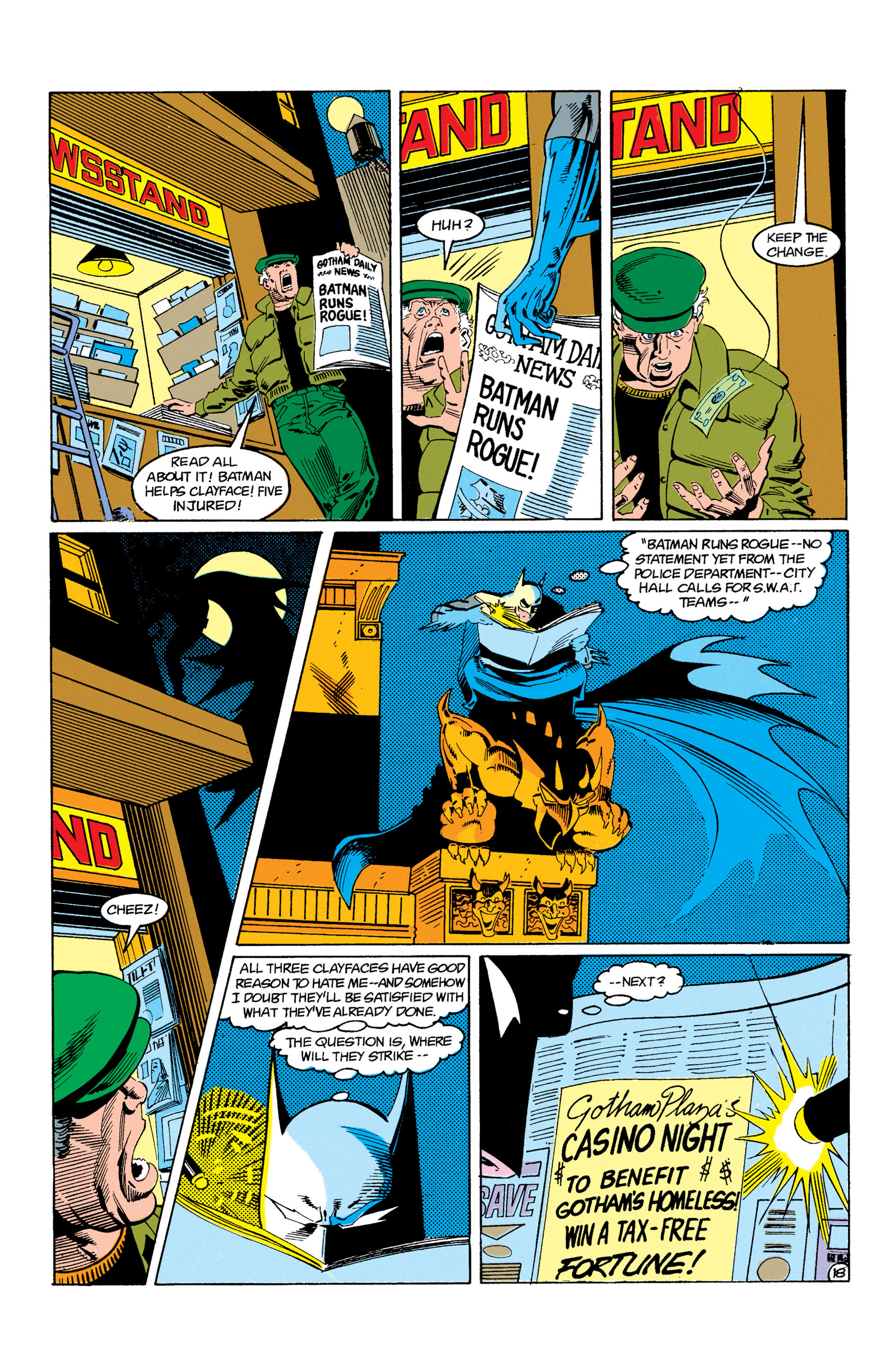 Detective Comics (1937) Issue #605 Page 19