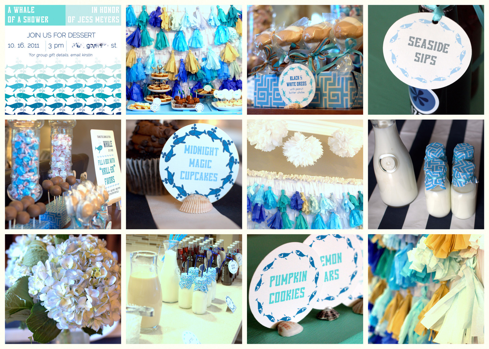 whale of a baby shower