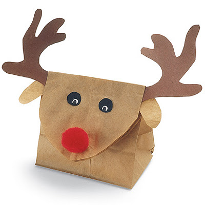 Опаковка на подарък за дете - Еленче