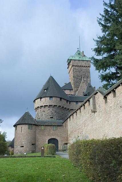 Chateau Haut Koenigsbourg Alsazia