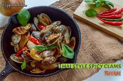 Spicy Asari Clams Recipe