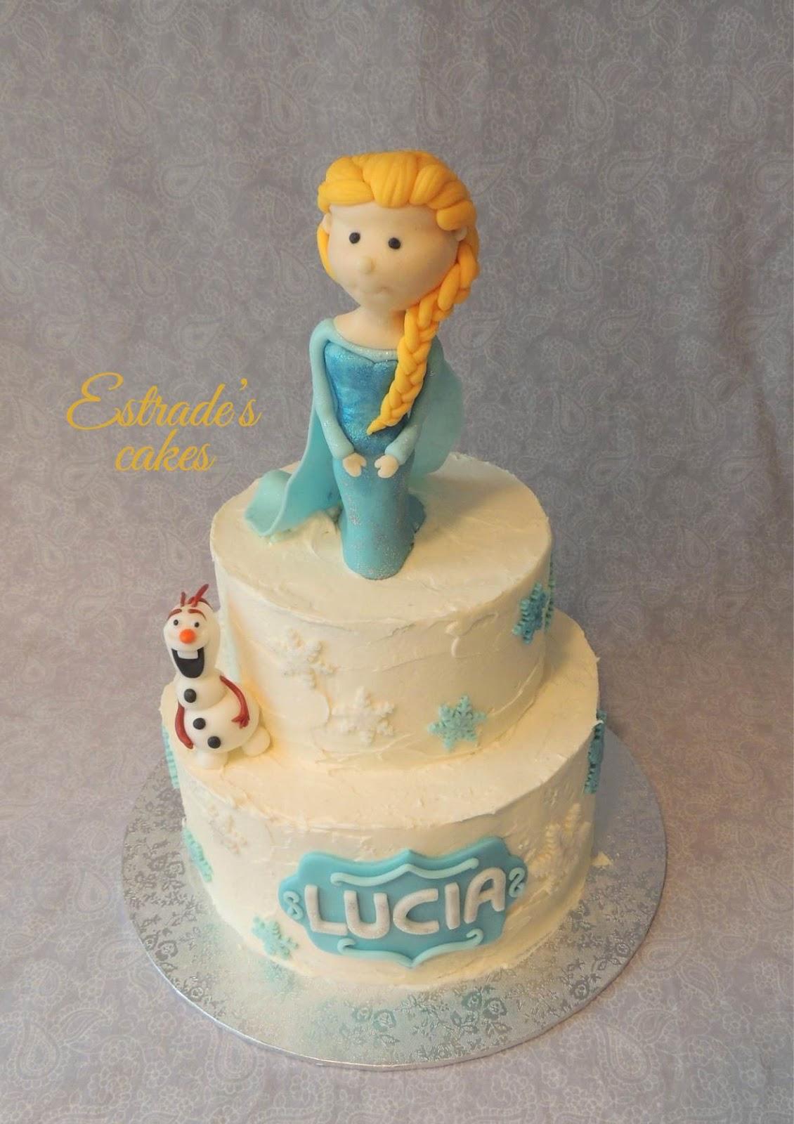tarta de Frozen - 1