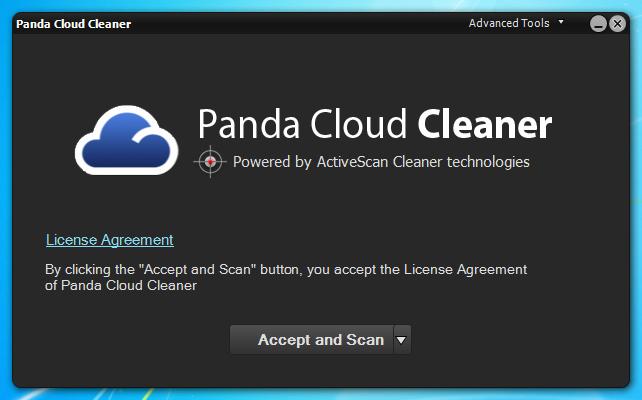 برنامج مجانى لتنظيف الفيروسات والبرامج الضارة والخبيثة Panda Cloud Cleaner 1.0.69