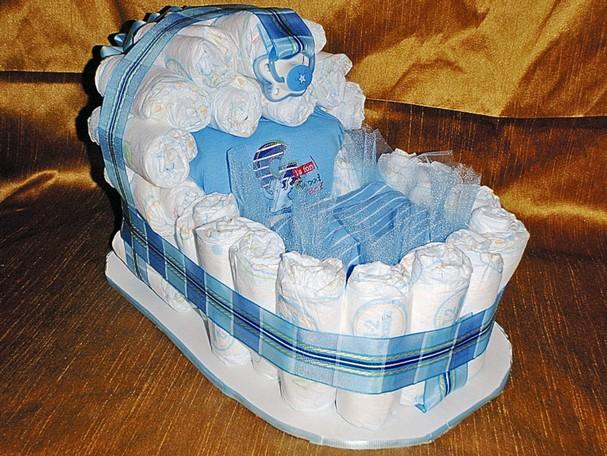 Bassinet Diaper Cake2