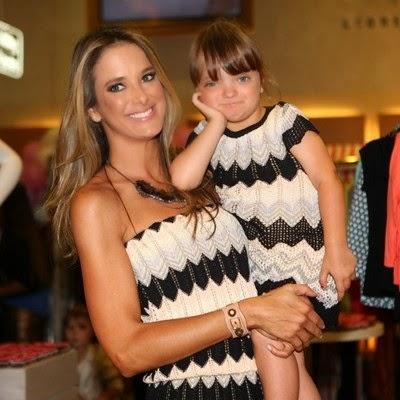 Ticiane Pinheiro e filha Rafaella