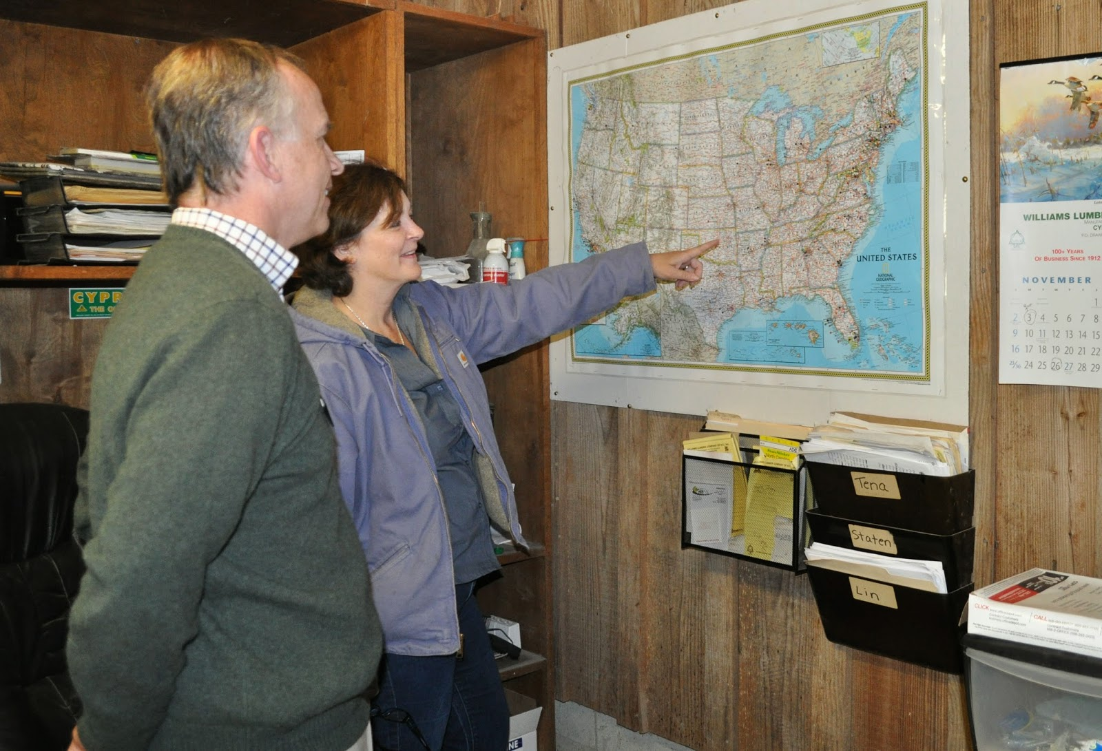 small business center helps local wood products company expand
