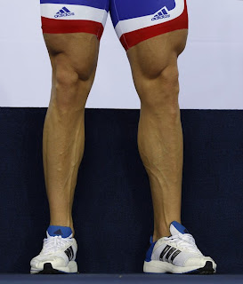 cyclist developed legs