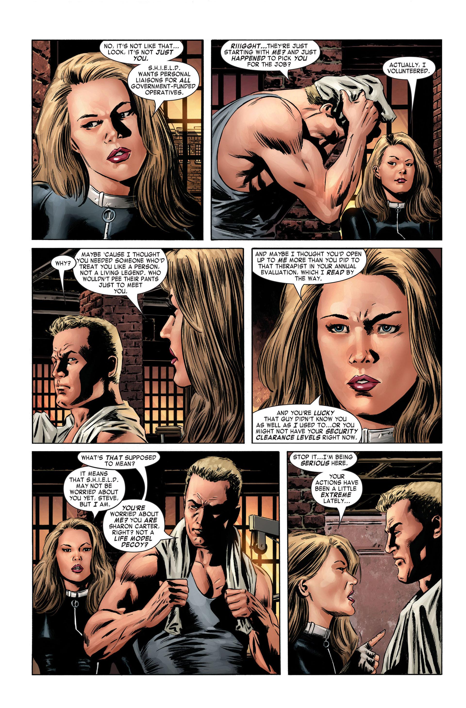 Captain America (2005) Issue #1 #1 - English 12