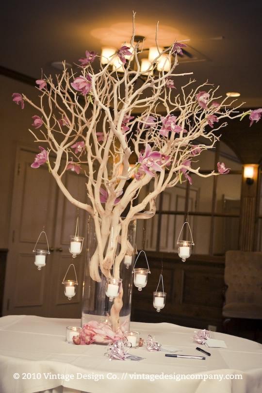 Alternativa rbol de los deseos - Arboles secos decorados ...