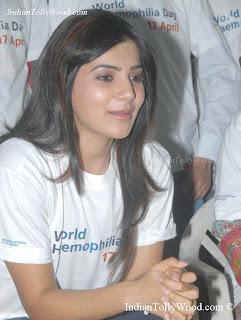 Samantha At World Hemophilia Day 2013 Pics Stills