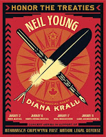 Neil Young - Honor The Treaties Shows