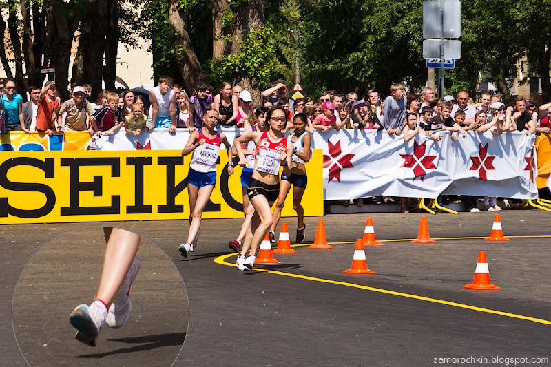 Каниськина летящая Женщины 20 км Кубок Мира по Спортивной ходьбе Саранск 2012 | Flying Kaniskina IAAF World Race Walking Cup Saransk 2012