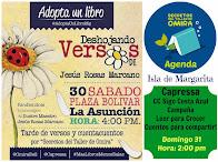 AGENDA AGOSTO 2014 - Isla de Margarita/ Venezuela