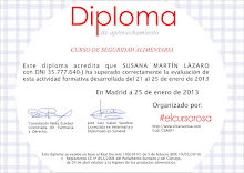 Diploma de Seguridad Alimentaria