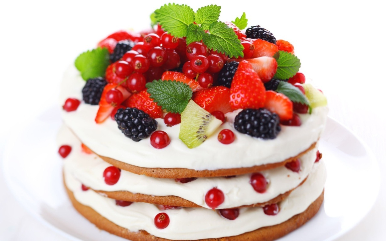 Birthday Cakes For You: Fruit birthday cake