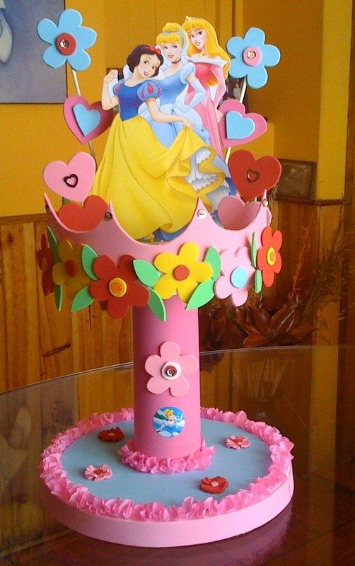 Ideas para tu fiesta princesas party - Fiestas infantiles princesas disney ...